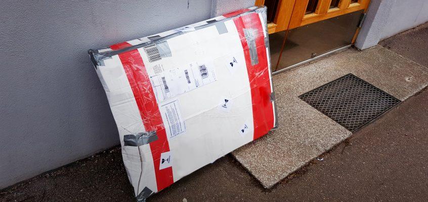 Nu är tavlorna skickade till Polen!