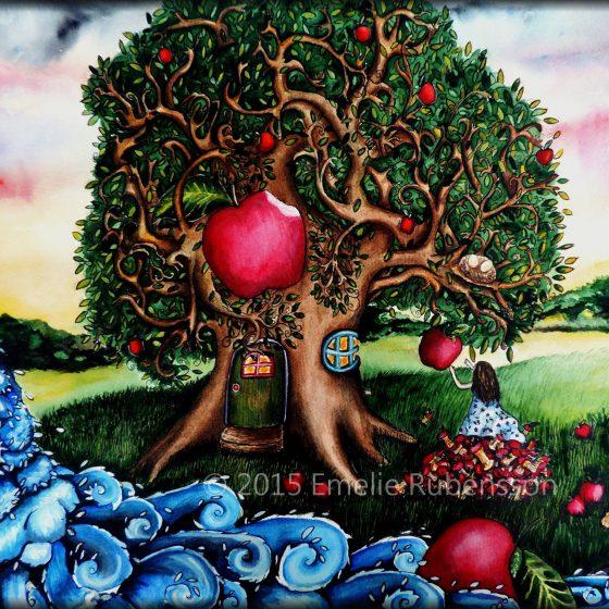 Äppelträdet © 2015 Emelie Rubensson