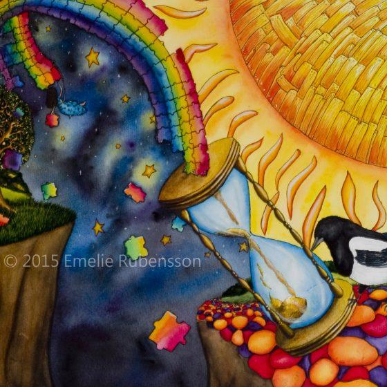 När regnbågen faller © 2015 Emelie Rubensson
