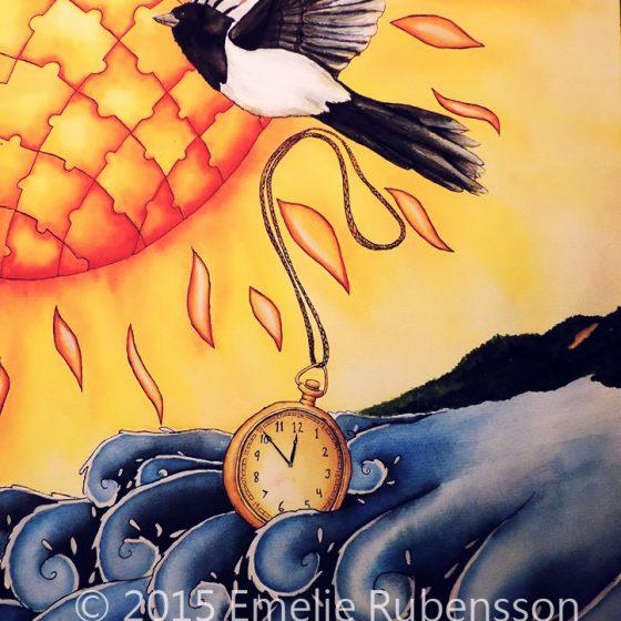 När tiden flyger iväg © 2015 Emelie Rubensson