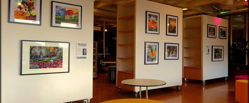Utställning Östersunds länsbibliotek, 2-8 mars 2015