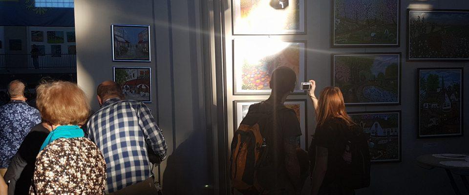 Invigning av Art Naif Festiwal, Katowice, Polen 2017